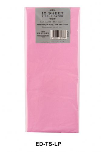 10 Sheet Tissue Paper Light Pink